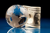 World and Money — Stock Photo