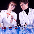 Female Scientists - Foto de Stock