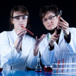 Female Scientists in laboratory - Foto Stock