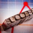 Success! — Stock Photo