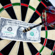 Stock Photo: Dartboard Concept