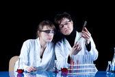 Frauen in der wissenschaft — Stockfoto