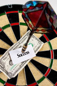 Dartboard Success Concept — Stock Photo