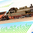 Stock Photo: Locomotive Model