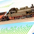 Locomotive Model — Stock Photo