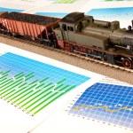Locomotive Model — Stock Photo