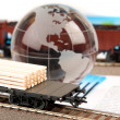 Stock Photo: International transport