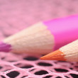 Colored pencils close-up — Foto de Stock
