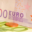 Coins and banknotes — Stock Photo #2125913