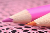 Colored pencils close-up — Stock Photo