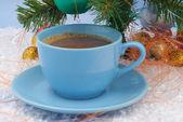 Christmas decoration- coffee brown — Stock Photo