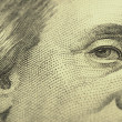 Franklin close-up banknotes — Stock Photo