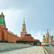 Moscow- Red Square — Stock fotografie