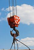 Crane hook — Stock Photo