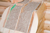 Element of insulation — Stock Photo