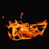 Heat flame — Stock Photo