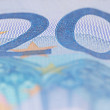 Banknote 20 euro — Stock Photo