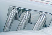 Automobile exhaust system componen — Foto Stock