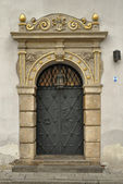 Gilded portal — Stock Photo
