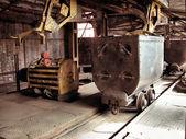 Coal mining cart — Stock Photo