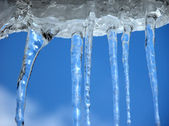 Icicles — Foto de Stock