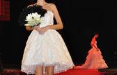 Wedding fashion show — Stock Photo