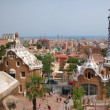 Magical Parc Guell - Stock Photo