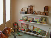 Children room in Casa Mila — Stock Photo