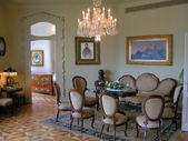 Living room in the Casa Mila — Stock Photo