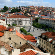View of the square Lisboa, Portugal — Stock Photo #2016970