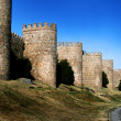 Great city wall in Avila, Spain — Stock Photo