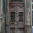 Stock Photo: Old door in Porto