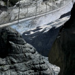 Bridge upper Grindelwald Glacier — Stock Photo #2184452