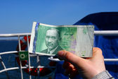 Estonian money — Stock Photo