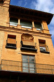 The architecture in Huesca — Stock Photo