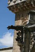 фрагмент фасада дворца bussaco — Стоковое фото
