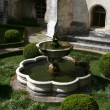 The fountain in Bussaco Palace — Stock Photo