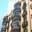 Building detail in Barcelona - Stock Photo