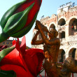 Theatre properties Verona, Italy — Stock Photo #2404980