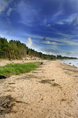Blue sky over the Baltic Sea — Stock Photo