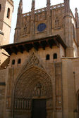 The cathedral, Huesca — Stock Photo
