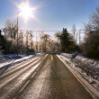 Winter road — Foto de stock #2455062
