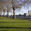Park near Greenwich in London — Stock Photo