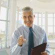 Middle Aged Businessman — Stock Photo