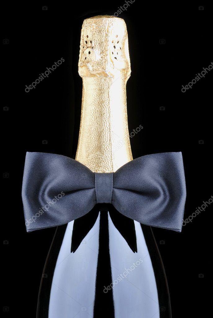 Как сделать галстук на бутылку - Gksem.ru