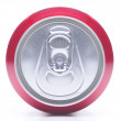 Close Up of Soda Can Top — Stock Photo