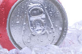 Close Up of Soda Can — Stock Photo