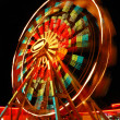 Ferris Wheel at night - Foto de Stock