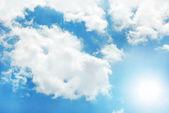 Fond de ciel ensoleillé — Photo