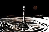 Vackra stänk av vatten — Stockfoto